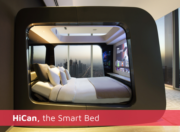 Hi Can, the Smart Bed