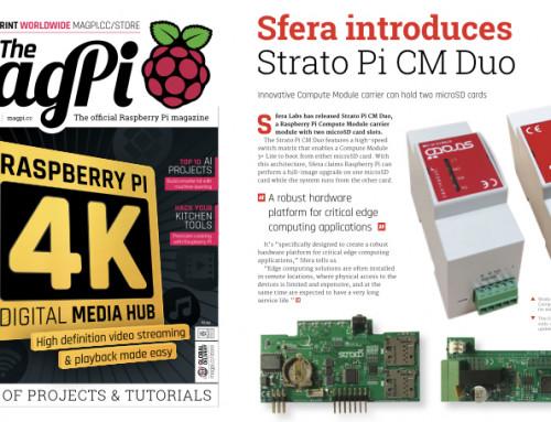 Strato Pi CM Duo @ MagPi Magazine!