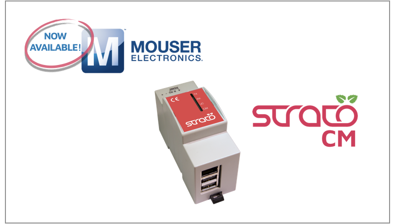 Strato Pi CM on Mouser Electronics!