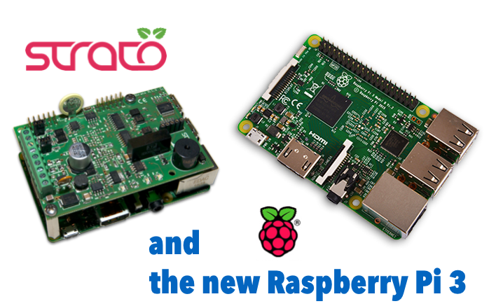Strato Pi and the new Raspberry Pi 3