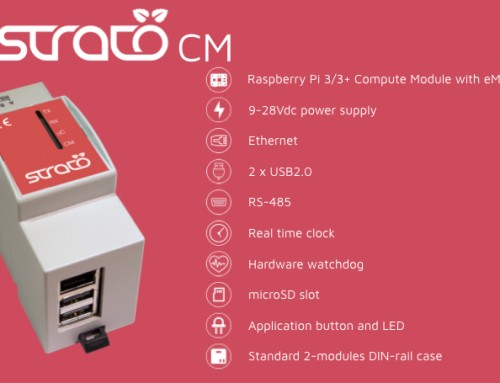 Strato Pi CM: compatible with the Raspberry Pi Compute Module 3+ and 3+/Lite!