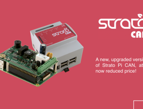 Strato Pi CAN: more features, lower price!