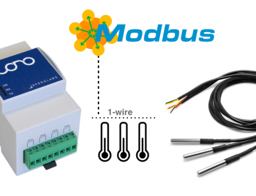 1-Wire temperature sensors to Modbus with Iono Arduino/MKR