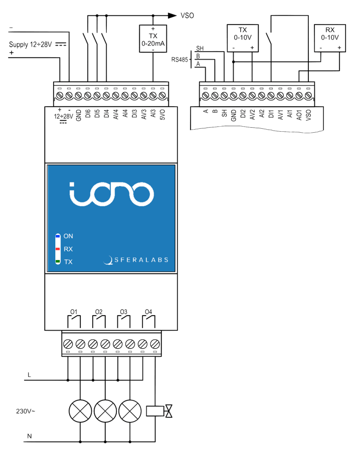 iono-arduino-connections