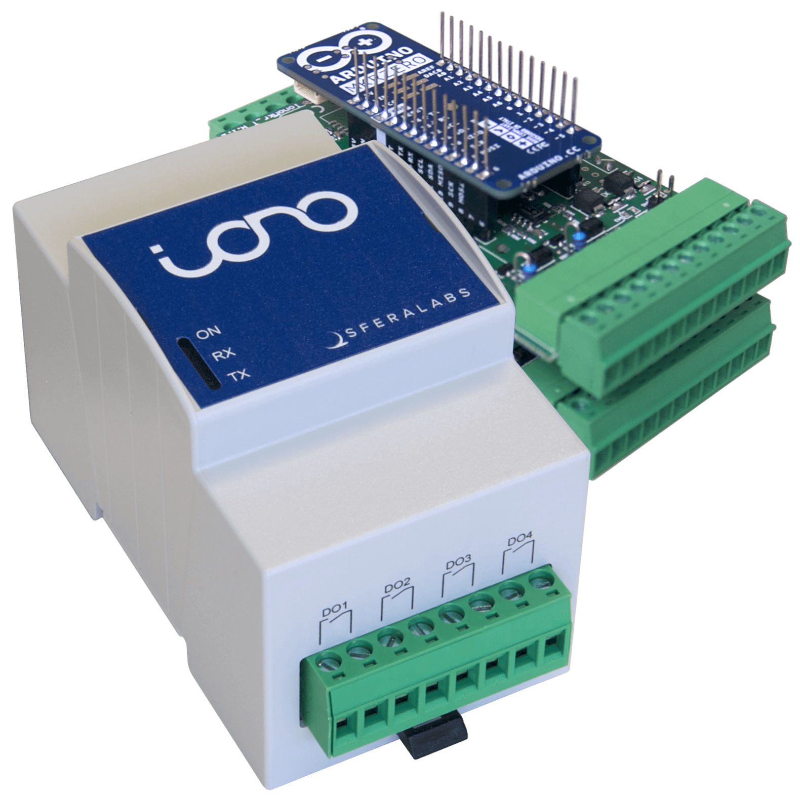 Iono Mkr Sfera Labs Arduino Relay Wiring Further Board As Well 2 Industrial Plc