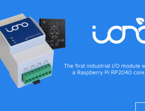 The new Iono RP: the first industrial I/O module based on Raspberry Pi's RP2040