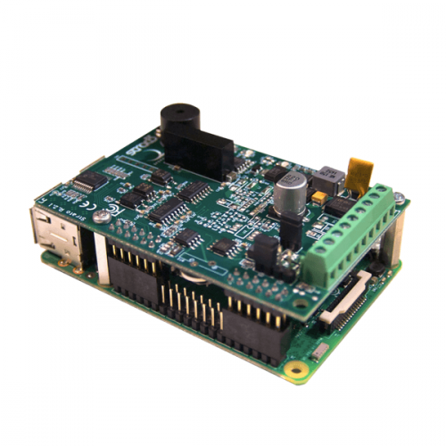 Strato Pi Base board on RPi