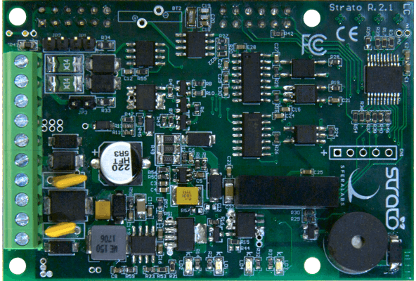 Strato Pi Industrial Raspberry Pi Ups Rtc Can Rs485 Rs232 Ce Fcc
