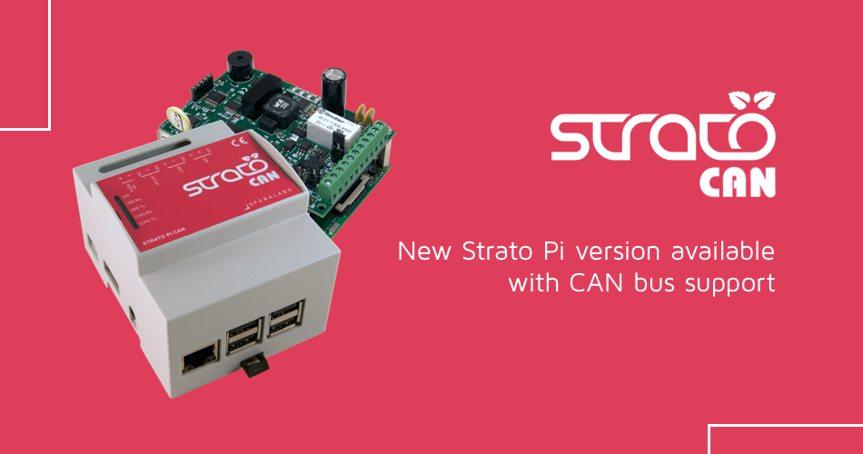 New Strato Pi CAN