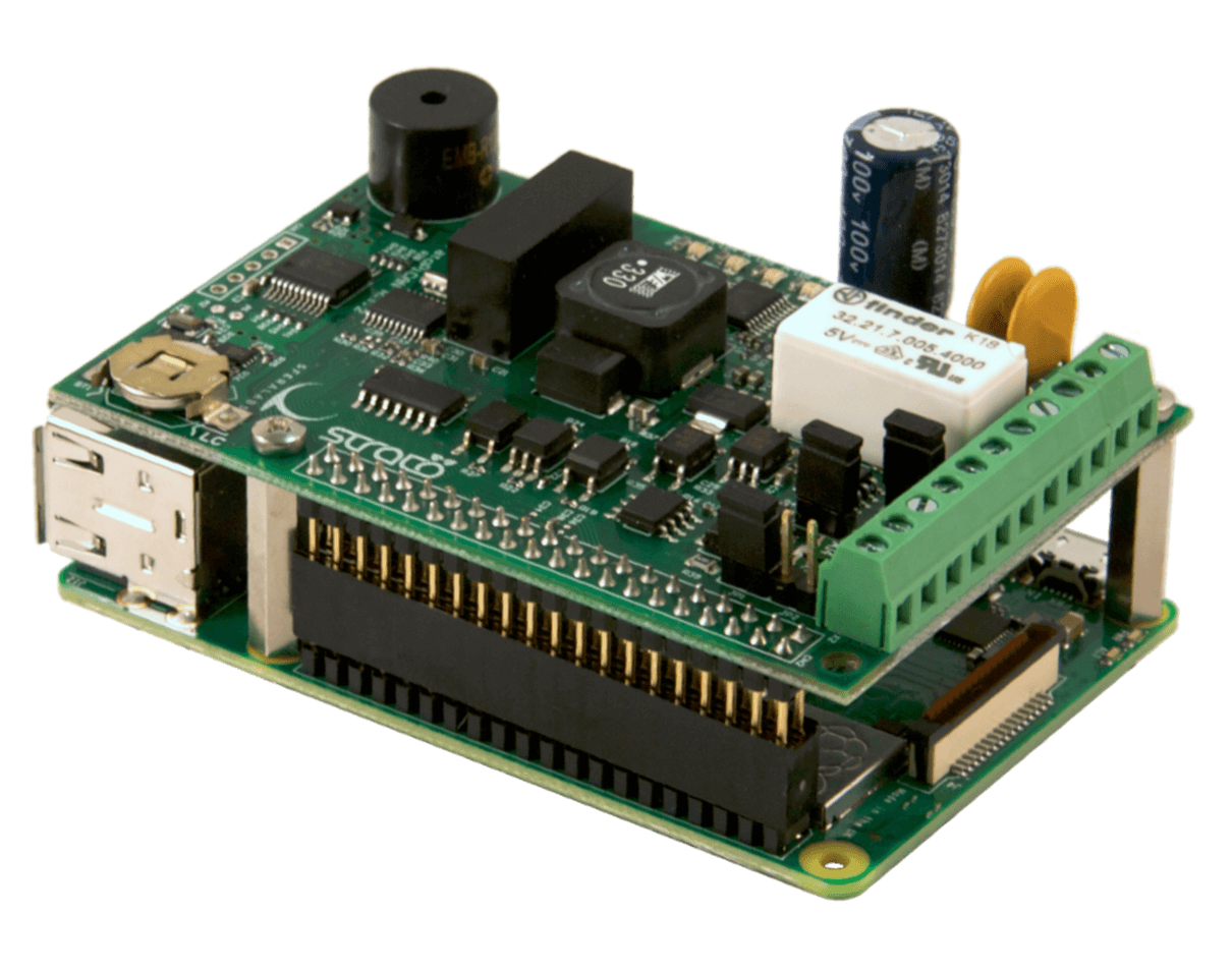 Strato Pi - Industrial Raspberry Pi - UPS RTC CAN RS485